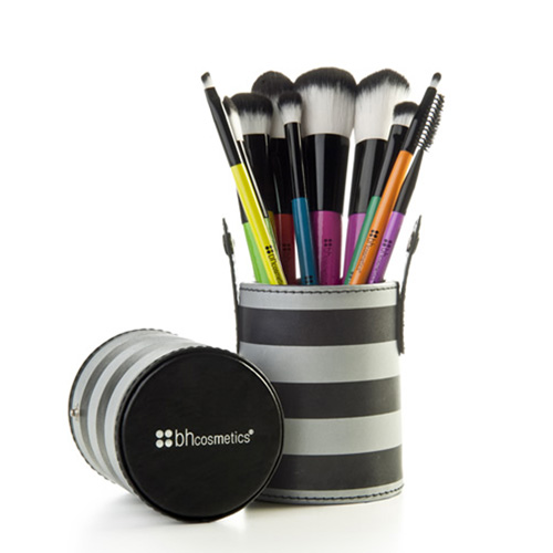 BH pop art 10 piece brush set