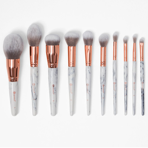 BH Marble Luxe 10 Piece Brush Set