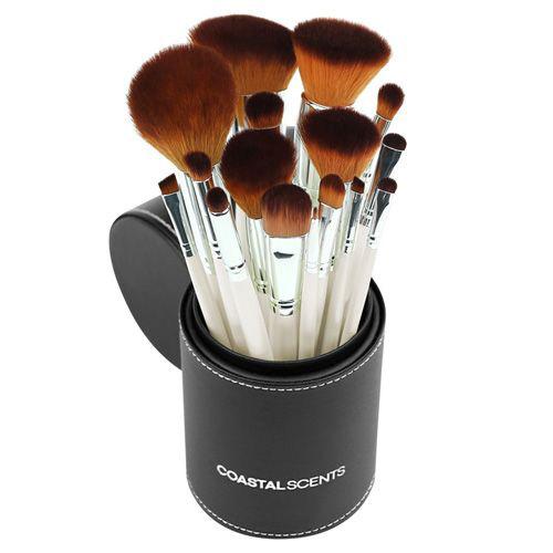 Coastal Scents Pearl Makeup Brush Set
