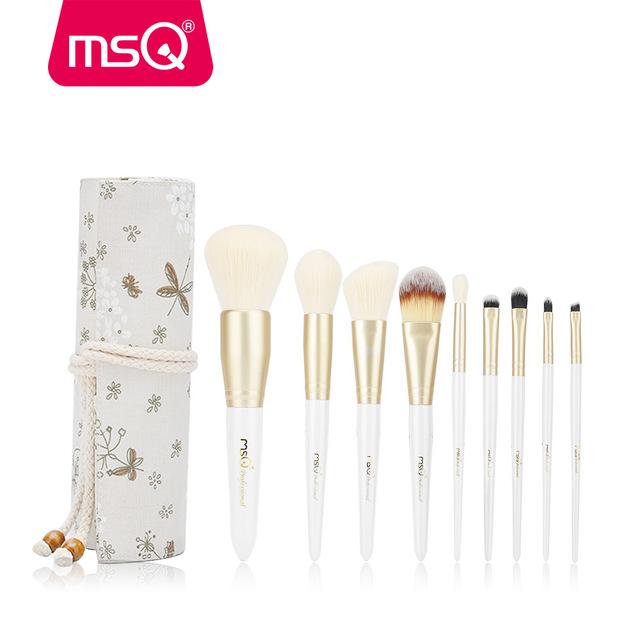Bộ Cọ 9 cây  cao cấp MSQ Romantic Dencounter 9 pcs Makeup Brush Set