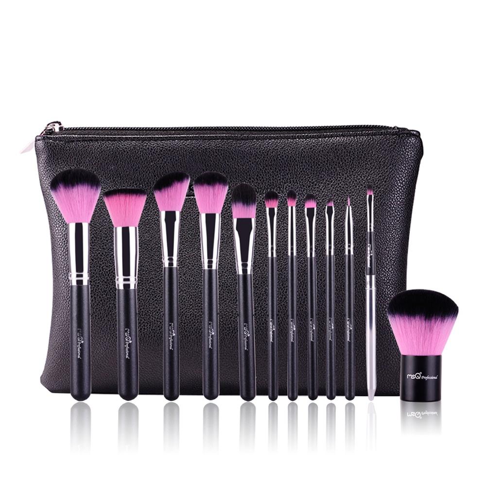 Bộ cọ 12 cây MSQ New Arrival 12Pcs Make up Brush (pink)
