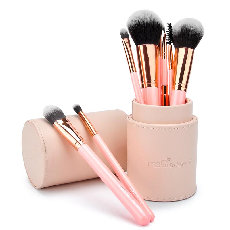 Bộ cọ cá nhân 8 cây MSQ Cosmetics Pink Brush Set